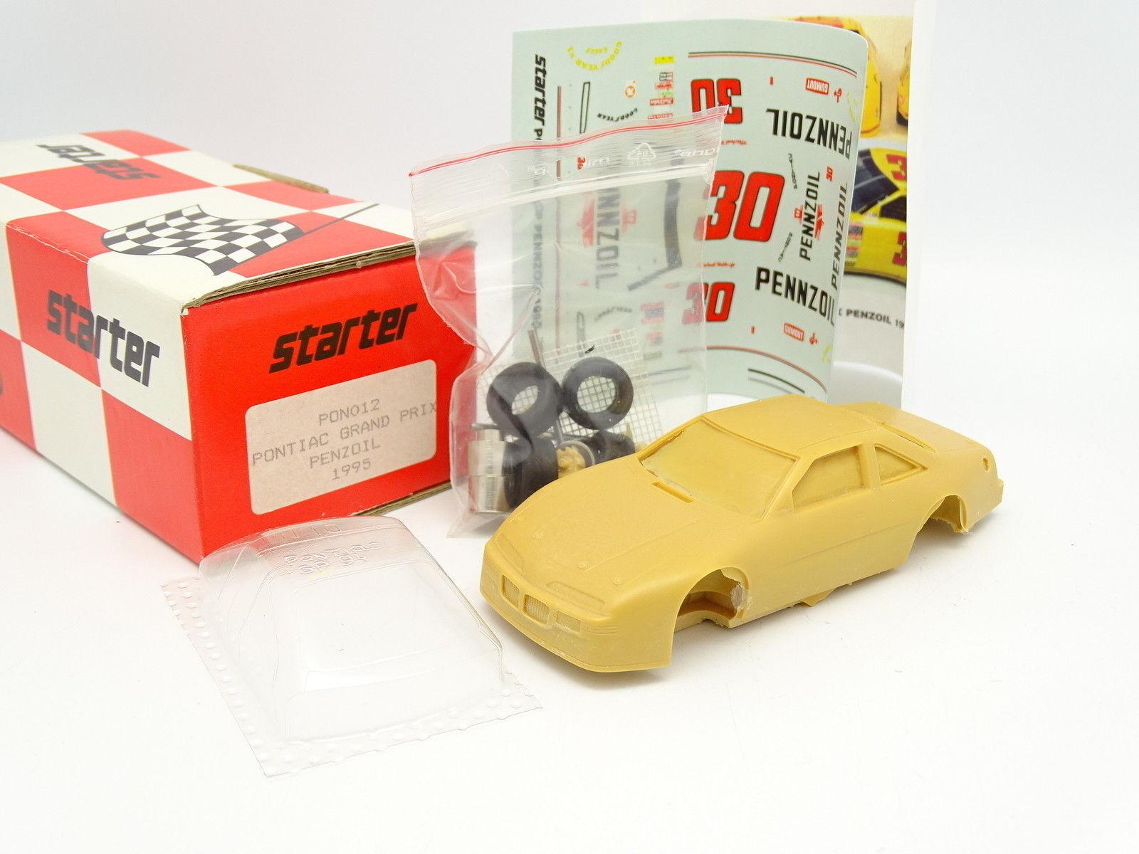 Starter Set zum Zusammenbauen 1 43 - Pontiac GRAND PRIX penzoil NASCAR 1995