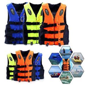 FR-Adulte-Enfants-Gilet-de-Sauvetage-Securite-Flottante-Navigation-a-Voile