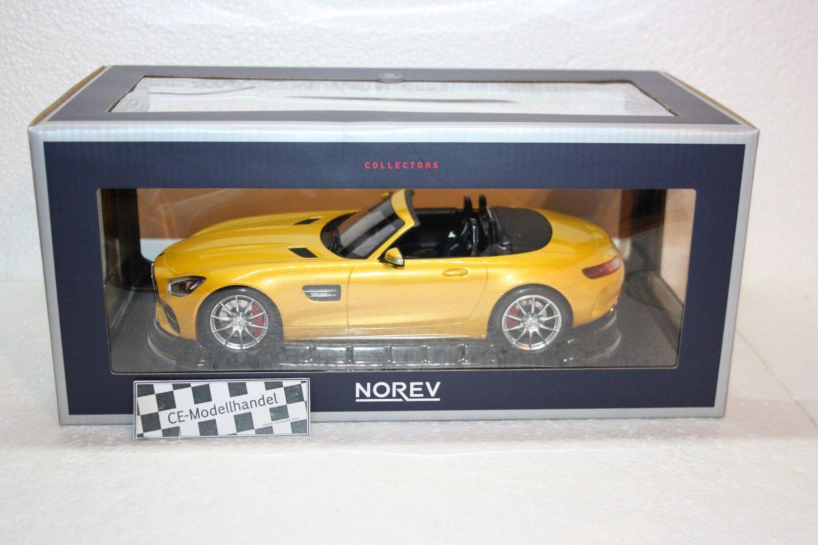 Mercedes-AMG GT C Roadster • NEU • Norev • 1 18