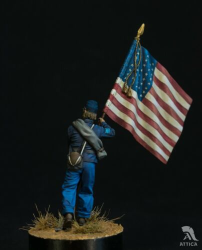 Standard bearer of Union Army Painted Toy Soldier Pre-OrderArt