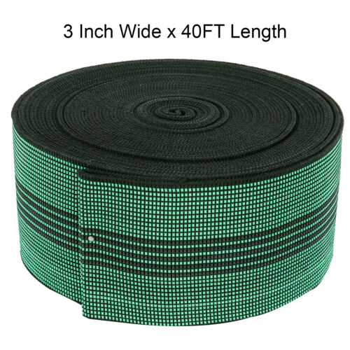 long canapé élastique Sangle Stretch Band US Fast Ship NEW DO IT YOURSELF 3 in environ 12.19 m environ 7.62 cm Large 40 ft