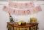 Grand-19x15CM-Joyeux-Anniversaire-Bunting-Banniere-Pastel-Hanging-lettres-Party-Decor miniature 4