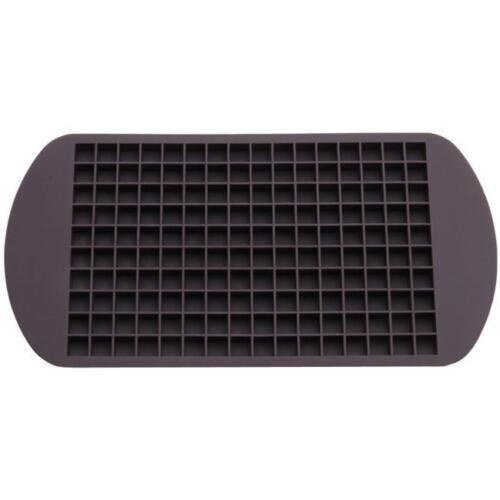 160 Grid Square Silicone Mini Small DIY Ice Cube Tray Ice Maker Mold Tool KV