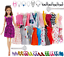 thumbnail 1 - Clothes And Accessories For Barbie Doll 32 Pcs Party Dress Outfit Glasses Shoes