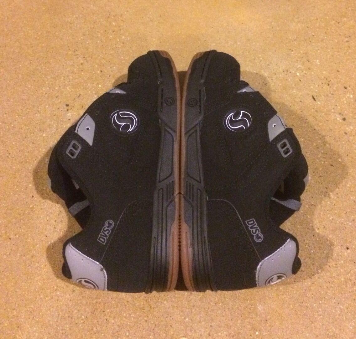DVS Havoc Size 7.5 Black Nubuck BMX MOTO DC Militia Skate Shoes Sneakers