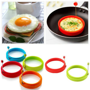 BULK Silicon Egg Rings High Heat Resistant Non Stick Surface Easy To Clean