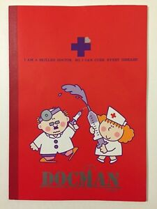 0ac6723dc Vintage 1980s NEW Docman Lined Notebook Tomboy Product By HB Japan ...