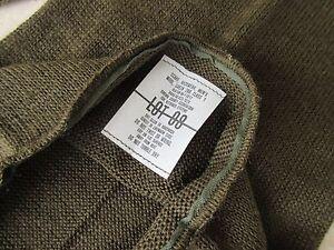 US Army Scarf Class 1 Neckwear Olive Od Long Version WW2 Original Wk