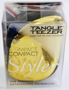 TANGLE-TEEZER-COMPACT-STYLER-034-Gold-Rush-034-desenredado-cepillo-15-89-unidad
