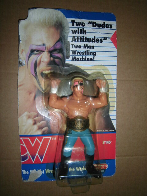 WCW Wrestling  WWF Hasbro Sting Galoob