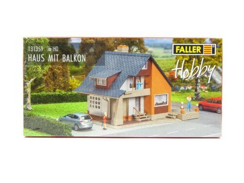 OVP neu Faller H0 131359 Haus mit Balkon
