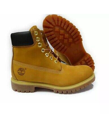 Timberland 6 pour Homme en (environ 15.24 cm) Double Colla Premium Leather Work Boots Style 73540 blé | eBay