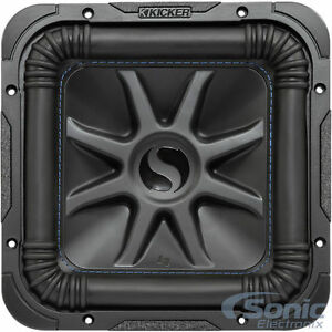 Kicker 1200w 10 solo baric l7 s dual 4 ohm car subwoofer l7s104 la foto se est cargando kicker 1200 w 10 034 solo baric l7 sciox Image collections
