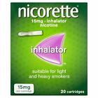 Nicorette Nicotine Inhalator - 15mg, 20 Cartridges