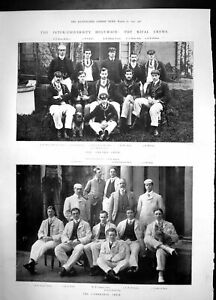 Old-University-Boat-Race-Rival-Crews-1902-Oxford-Cambridge-Photograph-20th