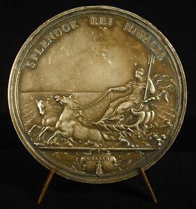 Medal-Louis-XIV-Splendor-Rei-Navalis-mauger-the-Royal-Navy-French-Medal