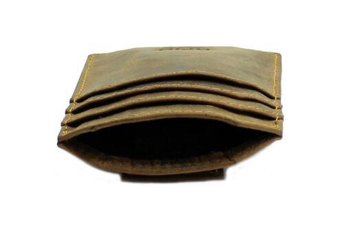 Starhide Mens RFID BLOCKING Strong Magnet Money Clip Real Leather Carholder 725