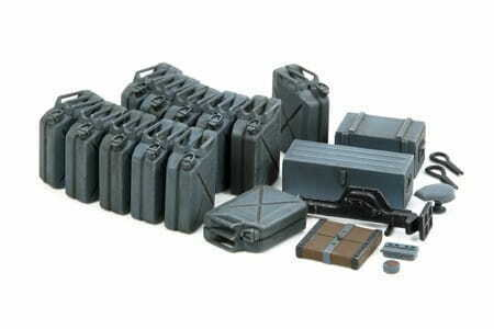 Tamiya 35315 1//35 Jerry Can Set Early
