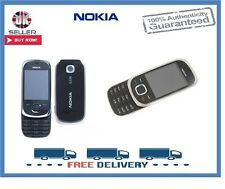 Brand New Nokia 7230 Black Slider 3G Unlocked Mobile Phone 1 Year Warranty