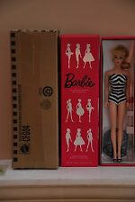 BLACK AND WHITE BATHING SUIT BARBIE DOLL, TEENAGE FASHION MODEL COLLECTION,