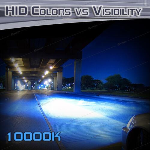 55W HID Xenon Replacement Bulbs for Kit Low Beam Bulbs Stark Quartz 35W H1