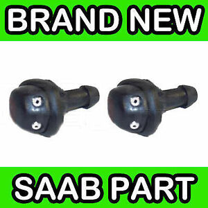 Saab-99-900-9000-9-3-Windscreen-Washer-Jets-Nozzles-Pair-x2
