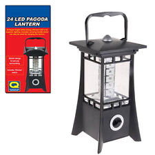 Pagoda 24 LED Lantern With Dimmer Switch Bright Lamp Light Camping Garden 20-66