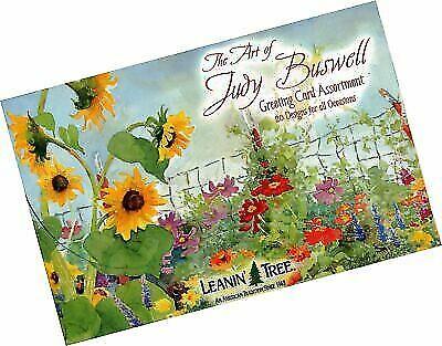 LEANIN TREE Abundance of Thanks w// Scripture #35351~Pk of 8 Notecards~Blank~