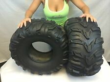 "Set of 2 25x11-10 Sedona Mud Rebel 25"" ATV Tires 6 Ply"