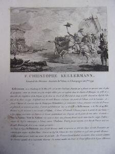 MotivéE F.cristophe Kellermann Général De Division, Journée De Valmi En Champagne 1792 PosséDer Des Saveurs Chinoises