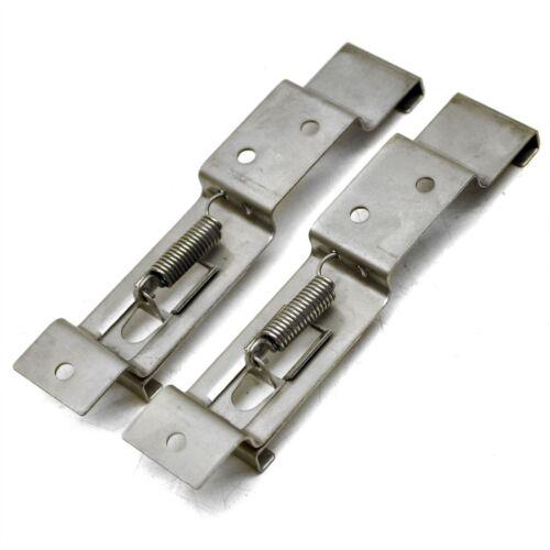 La placa del número de remolque Clips Soporte con resorte de acero inoxidable