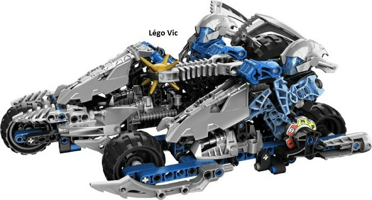 Lego 8993 Bionicle Battle Vehicles Kaxium V3 complet de 2009  -C330  prezzi bassissimi