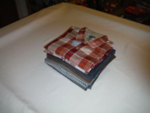 Long Sleeve Button front Men/'s Shirts 2XLT,2XL,Van Heusen Multi Color Plaid NWT