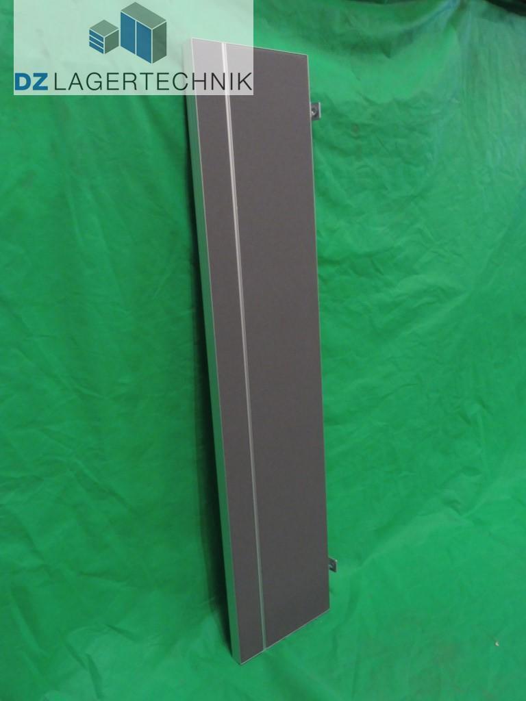 Tischtrennwand Sichtschutz grau Bürotrennwand Raumteiler Paravent Büro 1800x400