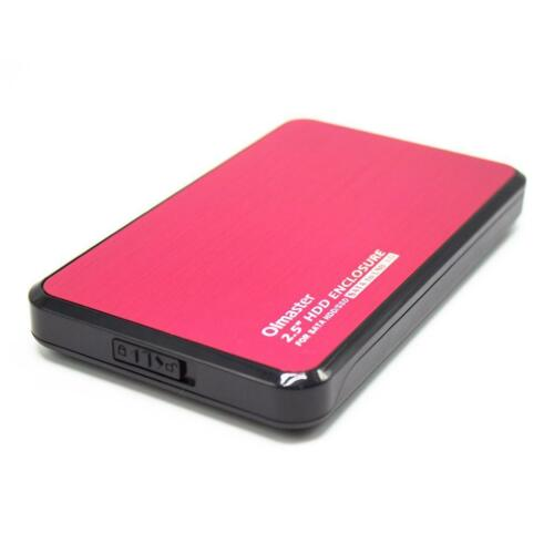 2.5inch USB3.0 to SATA 7.0-12.5mm External HDD Hard Drive Enclosure Case Red