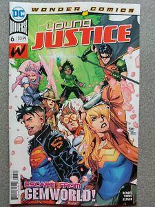 YOUNG-JUSTICE-6a-wonder-Comics-2019-DC-Universe-Comics-VF-NM-Book