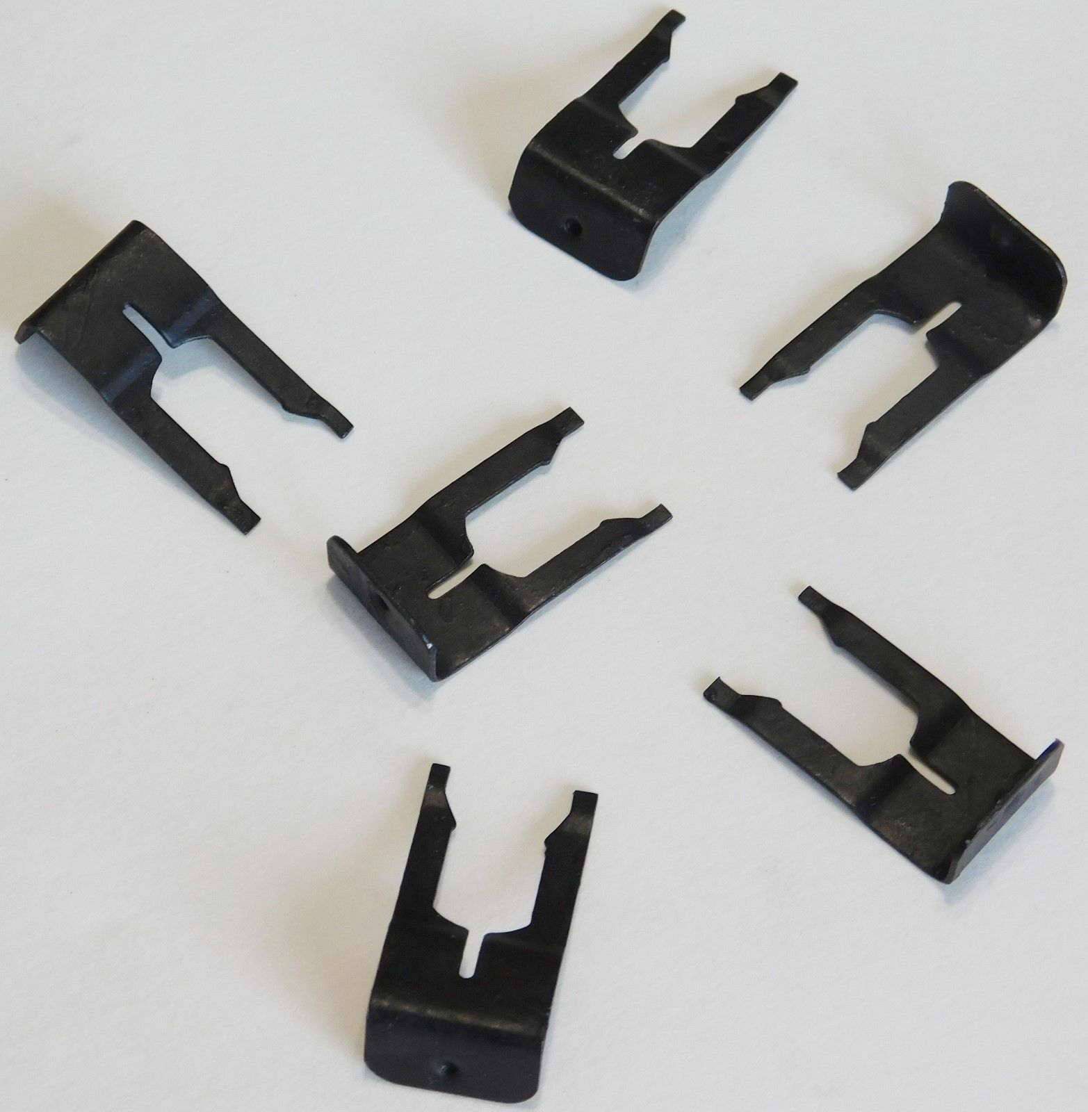 1994-1998 Mustang Vertical Headlight Adjuster Retainer Clips Fasteners Clamps