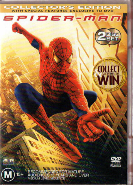 Spider-Man - Collector's Edition - REGION 4 - DVD - FREE POST!