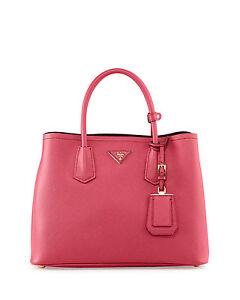 279a532c2ca5 NEW Prada Saffiano Cuir Small Tote Shoulder Bag Handbag BN2775 ...