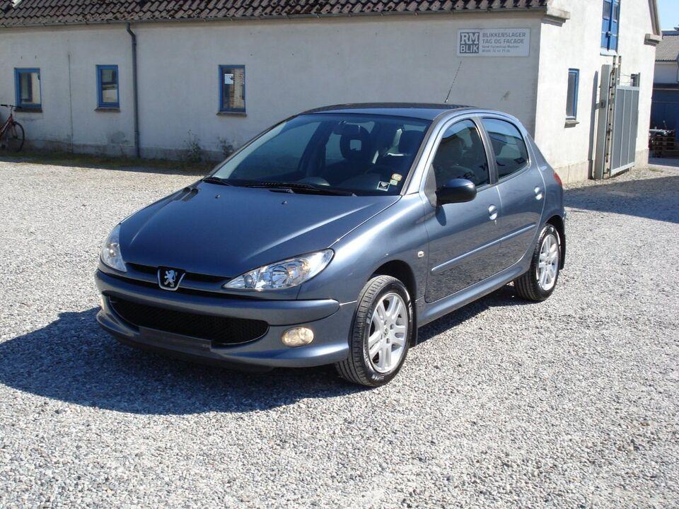 Peugeot 206 1,4 HDi S-line Diesel modelår 2007 km 192000