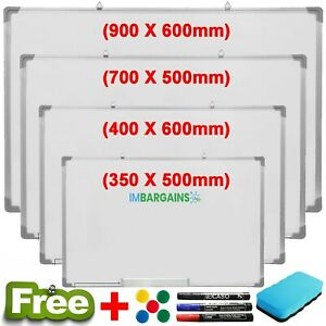 School-Office-Home-Magnetic-Whiteboard-Dry-Wipe-Drawing-Board-Small-Medium-Large