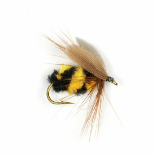 Bumble Bee Fishing Bait 10pcs #10 Fake Artificial Insects Lures Bionic Tackle