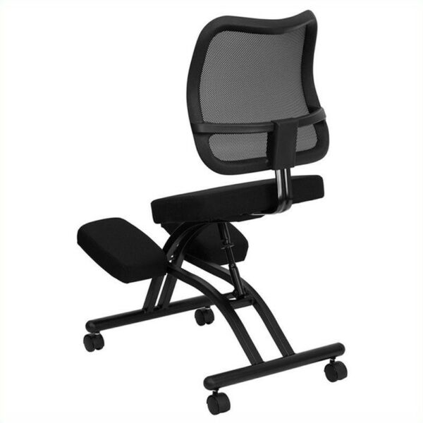 Flash Furniture Ergonomic Kneeling Chair With Mesh Back