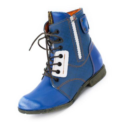 36-42 Mehrere Farben ► TMA BIZARRE 1881 Damen Schuhe /> Leder Winter Boots Gr