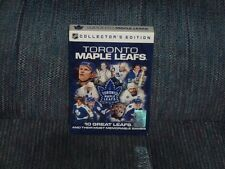 TORONTO MAPLE LEAFS - 10 Great Leafs And Their Most Memorable Games - 10 DVD Set
