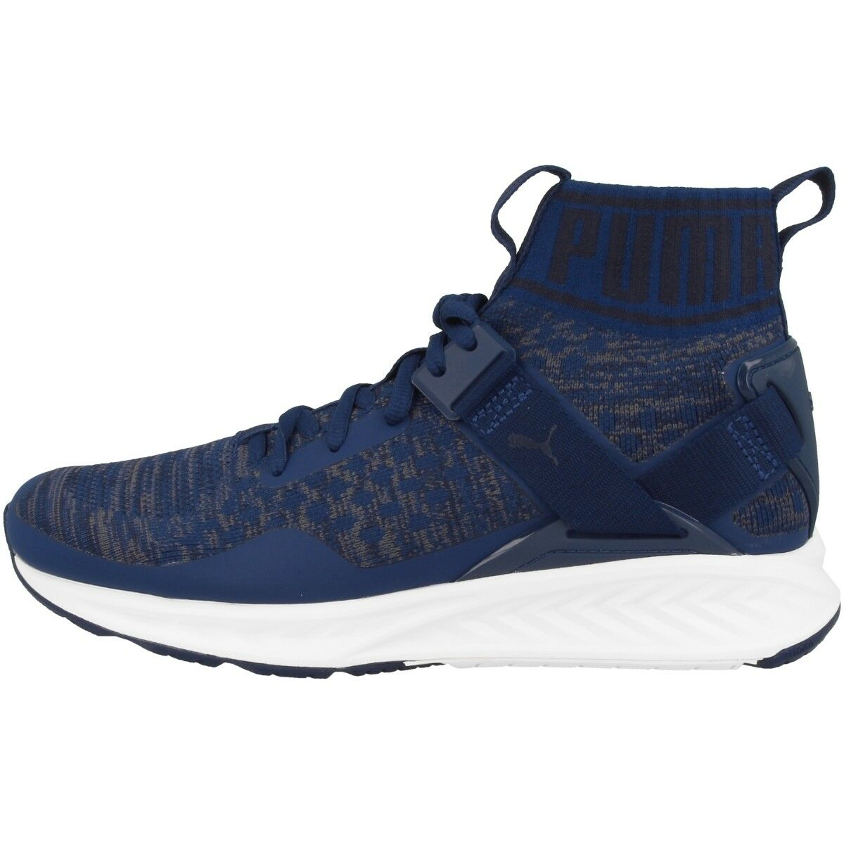 Puma Ignite evoKNIT Schuhe Herren High Top Sneaker blue depths Drift 189697-11