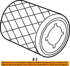 CHRYSLER OEM Engine-Air Filter Element 53034051AB