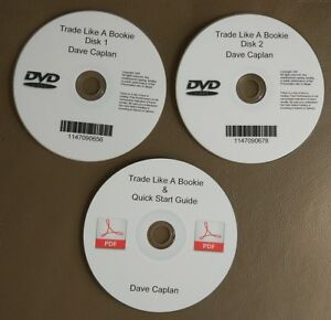 Details about Dave David Caplan Trade like a Bookie PDF Book + 2 DVD -  Options Selling Income