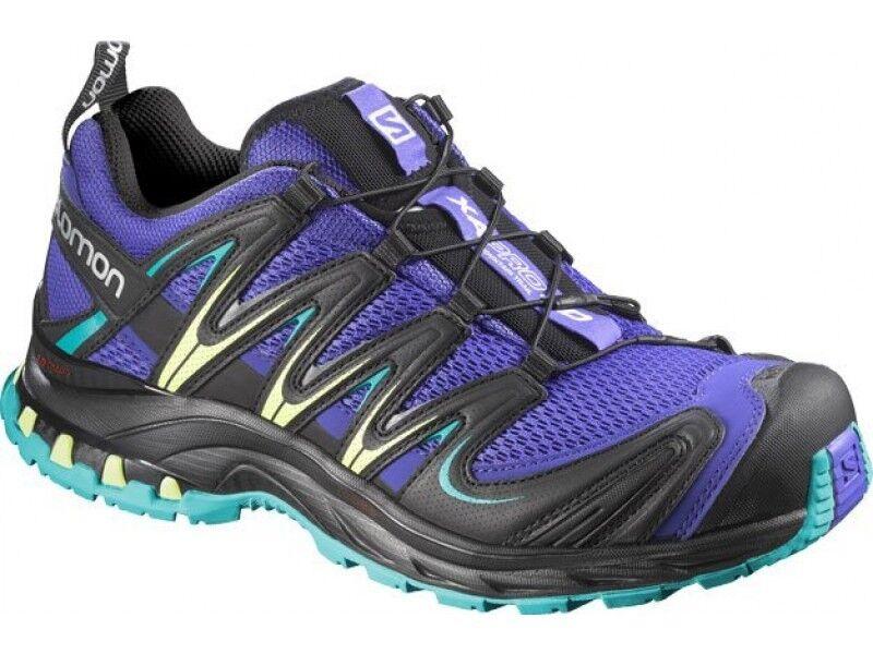 shoes de course sur sentier Femme XA PRO 3D W Spectrum blue black Sarcelle