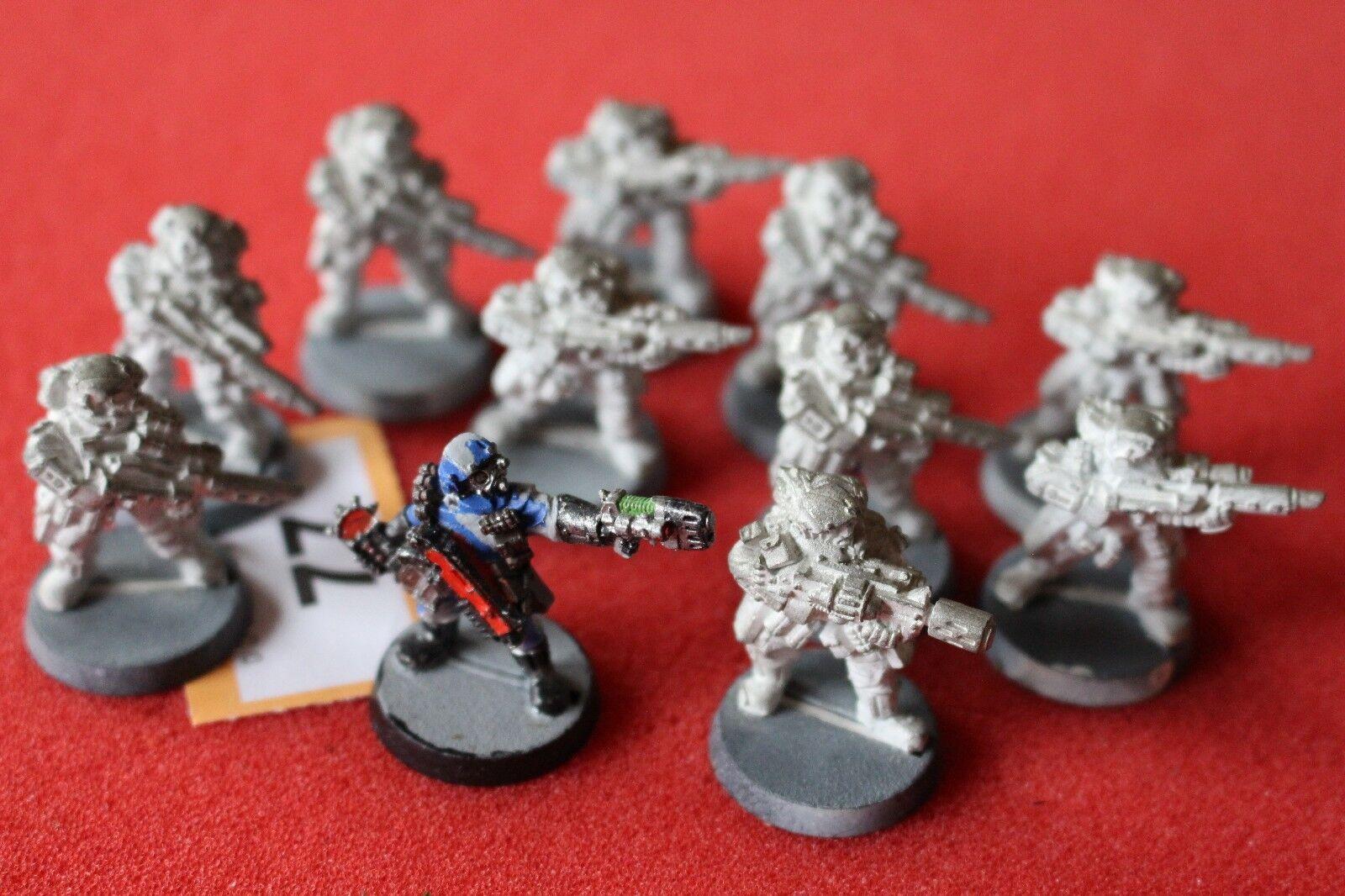 giocos lavoronegozio WARHAMMER 40k inquisitorio Stormtrooper 11 cifra in mettuttio  fuori catalogo GW  economico in alta qualità